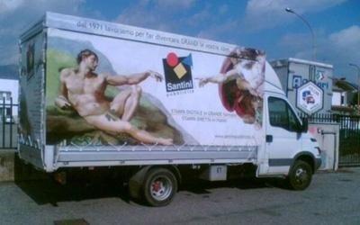 Fornitura teloni per camion personalizzati
