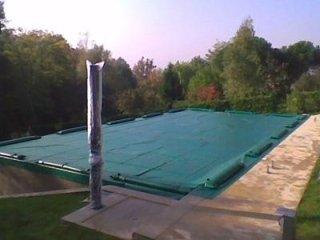 Teloni per coperture per piscine