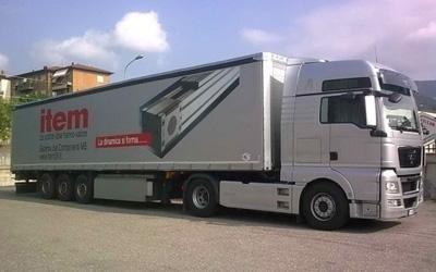 Teloni per camion Bergamo