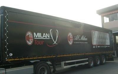 Realizzazione teloni per camion Bergamo