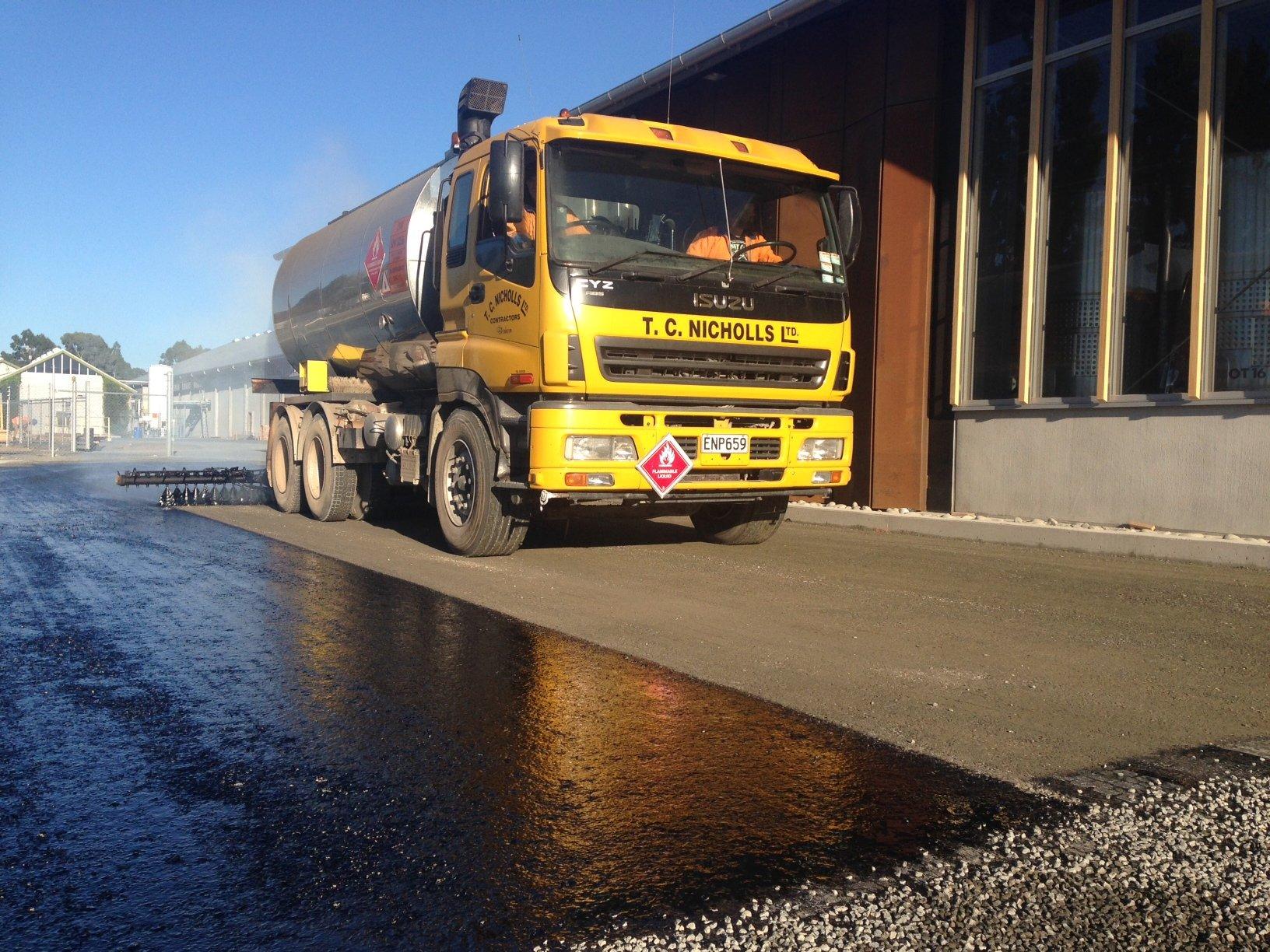 T C Nicholls Ltd Truck
