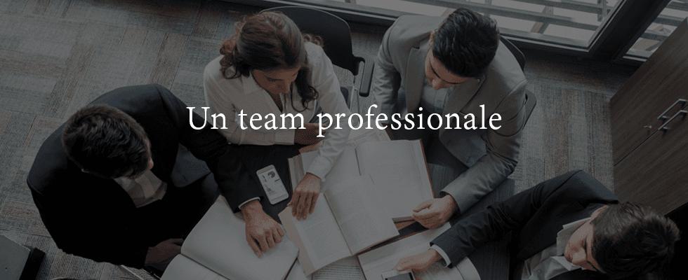 Un team professionale