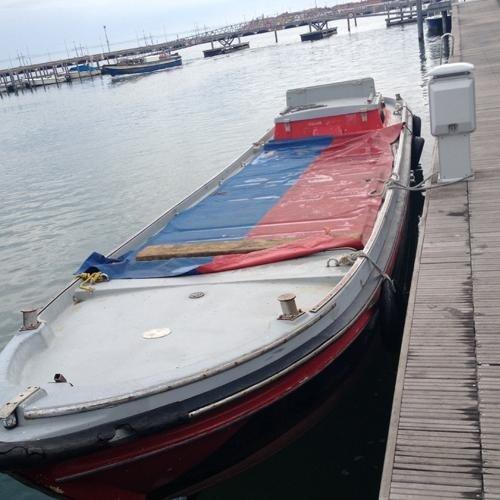 Barche per trasporto laguna