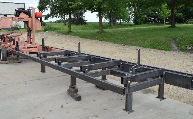 12-foot bed extension for Wood-Mizer portable sawmill