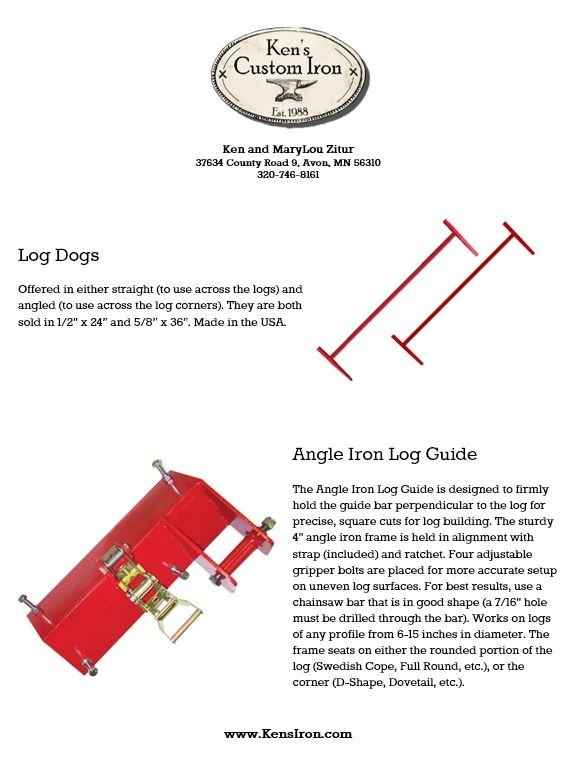 Log Home Tools PDF