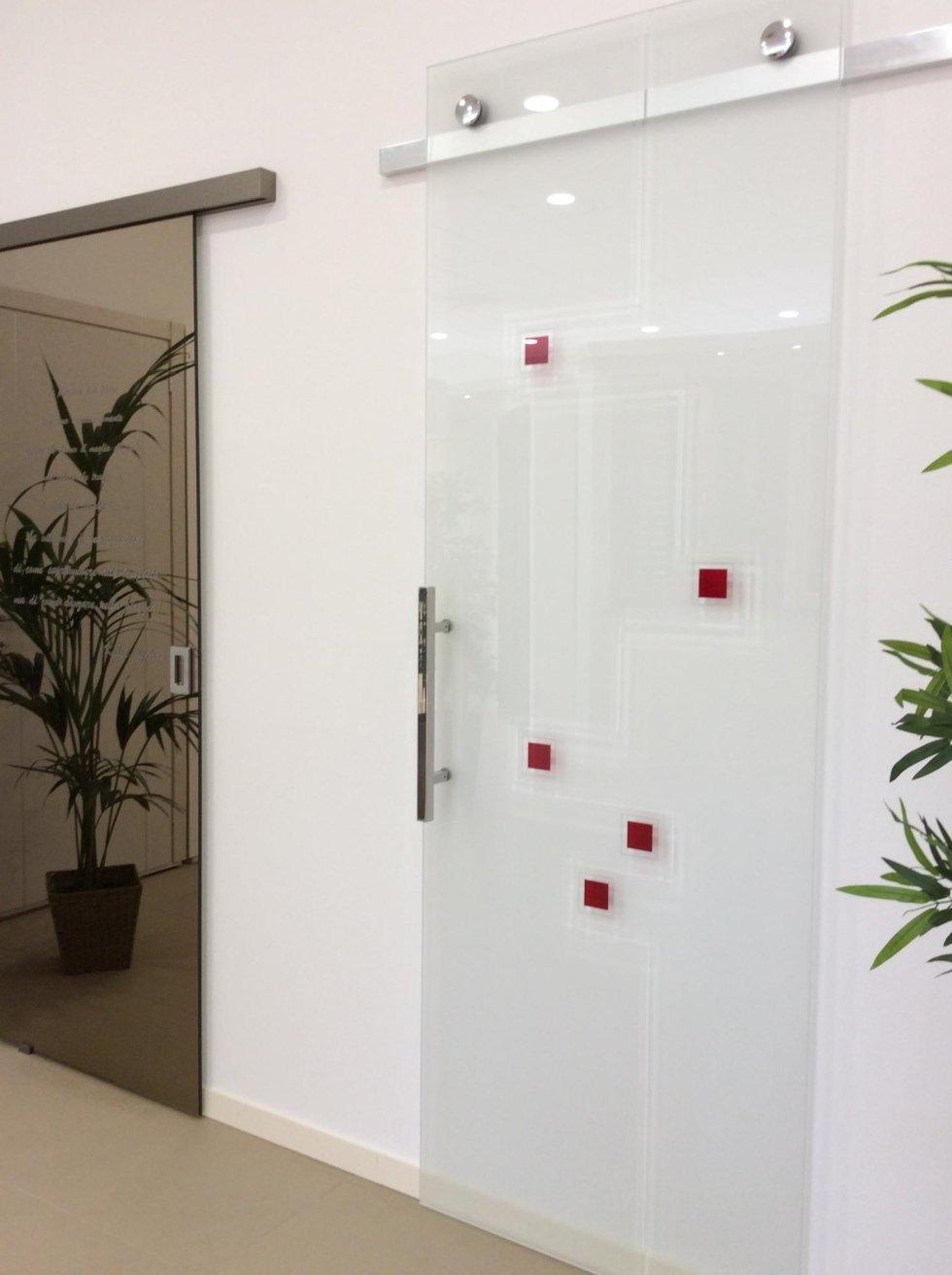 porte da interno in vetro