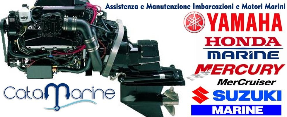 manutenzione e assistenza su motori marini delle migliori marche