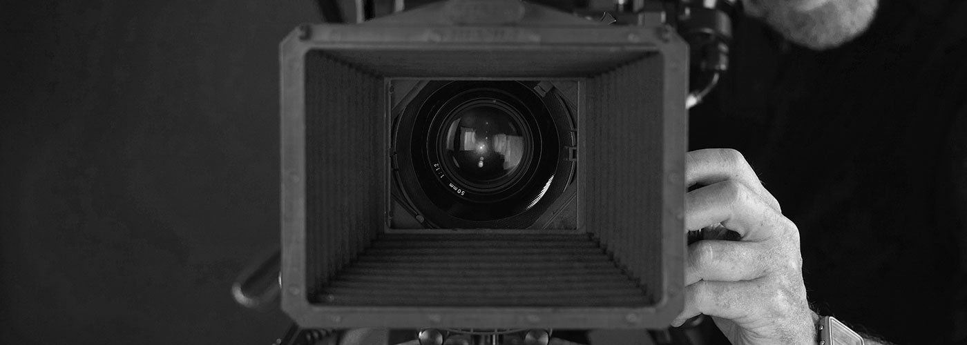 Videographers camera in Melbourne