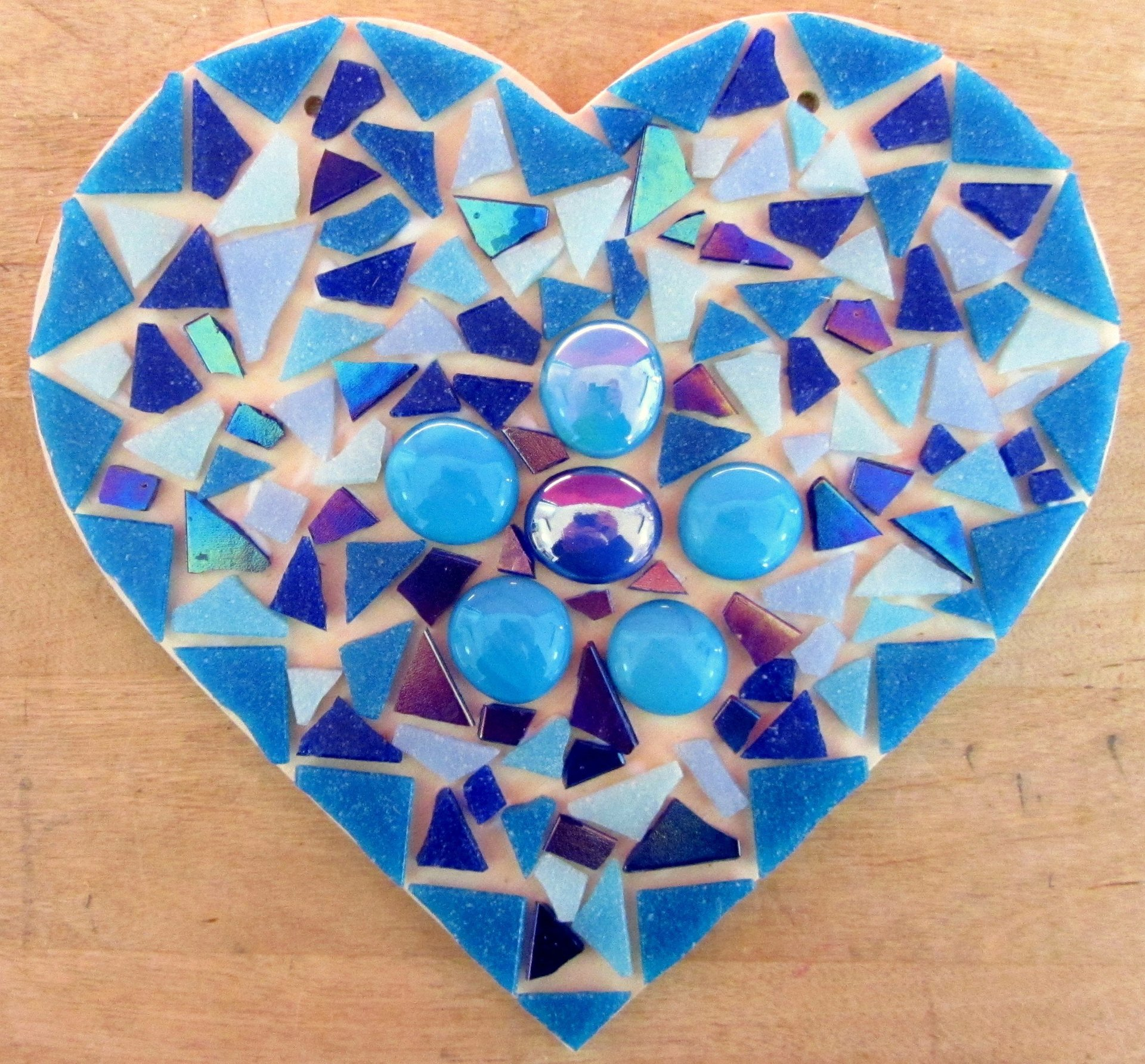 Mosaic Workshops at TomatoJack Arts, Berkeley, Gloucestershire.