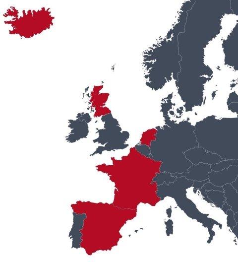 fornitori principali in Europa