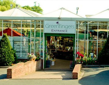 greenfingers garden centre entrance