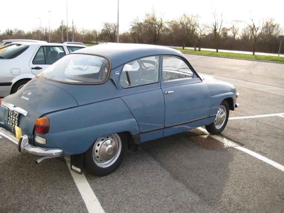 Auto d'epoca Saab