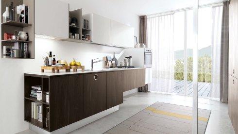 cucina con ante in legno massello, cucine pregiate, vendita cucine