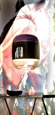 La nostra ditta propone l'innovativo lampadario Gong, con superficie a specchio.