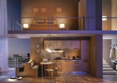 La nostra ditta fornisce cucine e arredi zona giorno per residence di lusso.
