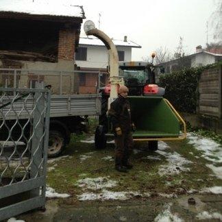 lavori di potatura