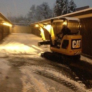 sgombero neve su strada