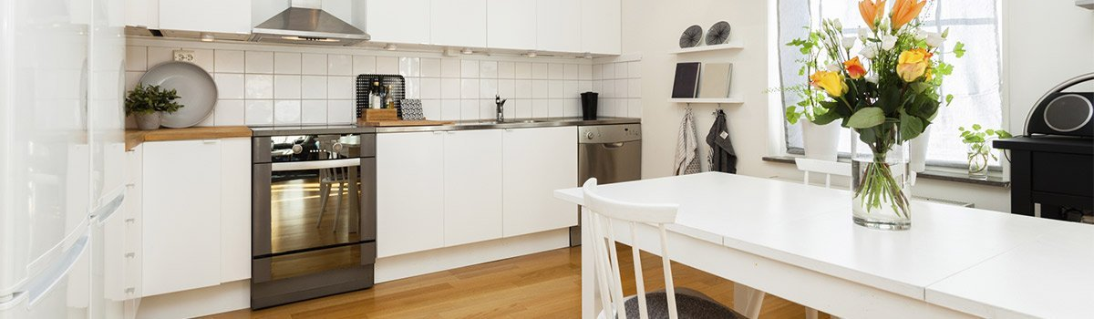 A finished kitchen in Maitland