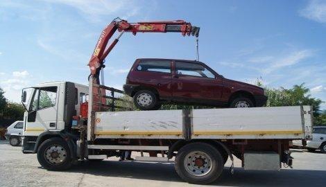 smaltimento automobili