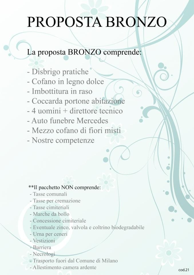 Proposta Bronzo