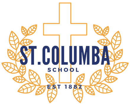 St. Columba School, Durango CO, school crest