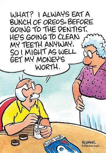 sunday funnies dentist family dental centres indulge in a few cookies