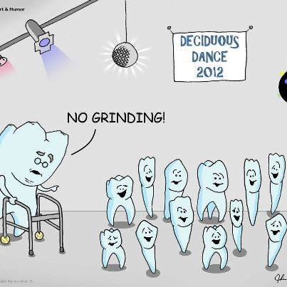 sunday funnies teeth grinding at a school deciduous dance family dental centres