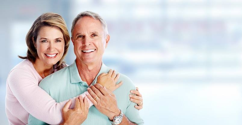 older couple smiling with great teeth Family Dental Centres