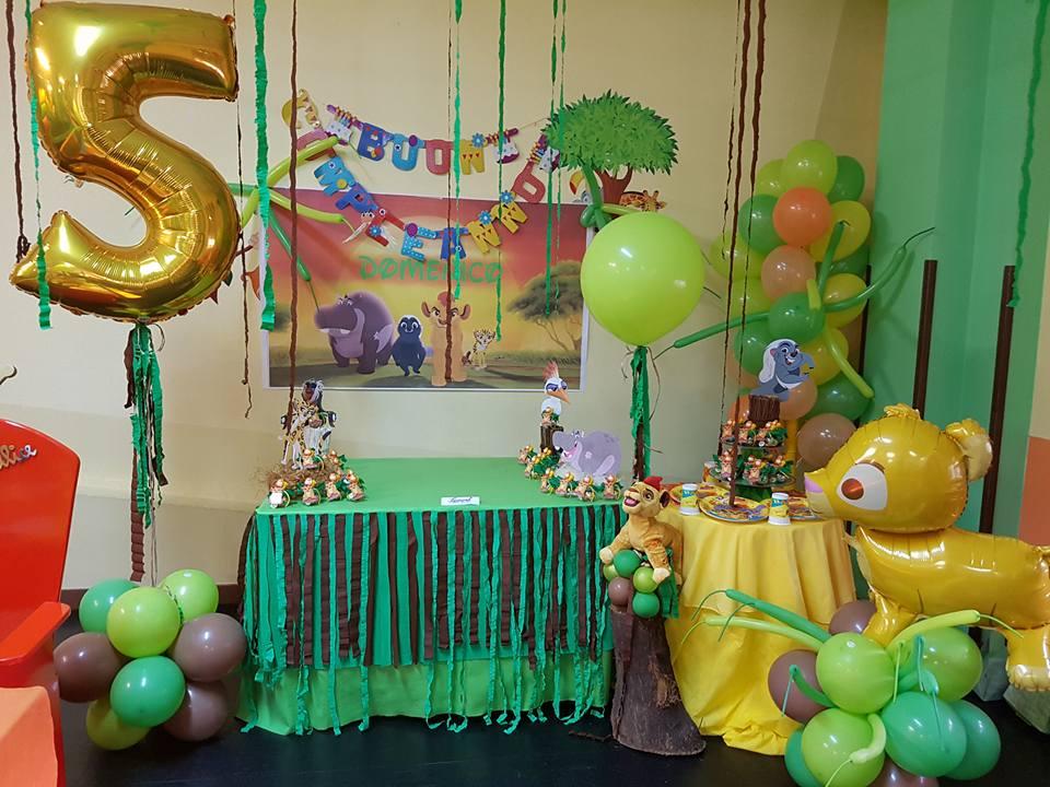 Allestimento per festa di compleanno