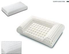 Guanciale ortopedico in lattice