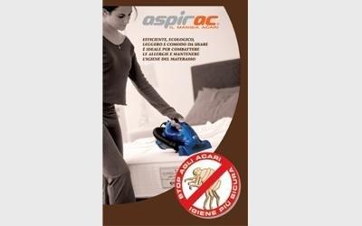 Aspirapolvere per tessuti e biancheria modello Aspirac