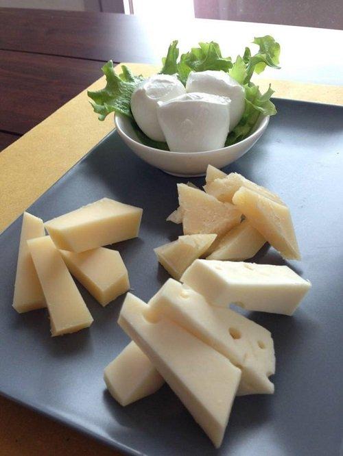 Il tagliere dei formaggi