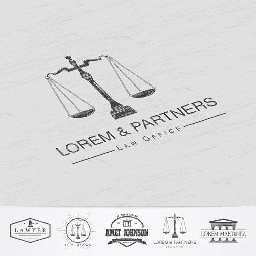loghi di diversi studi legali
