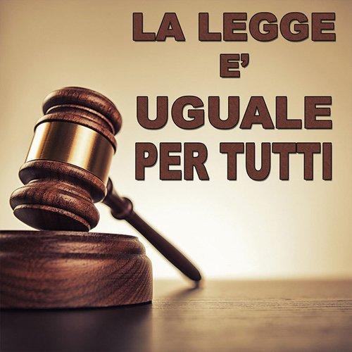 manifesto con motto del sistema giuridico italiano