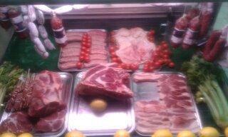 Carni e salsicce fresche