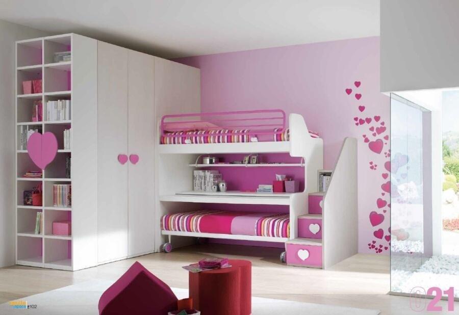 Camere per ragazzi castelli romani mobilificio rosi for Stanzette per bimbe