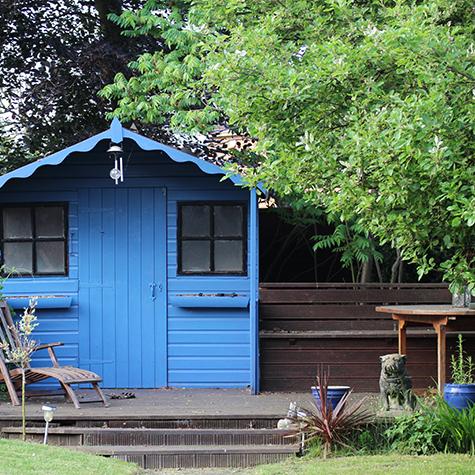 Qualche idea per una casetta da giardino fantastica for Idea per giardino
