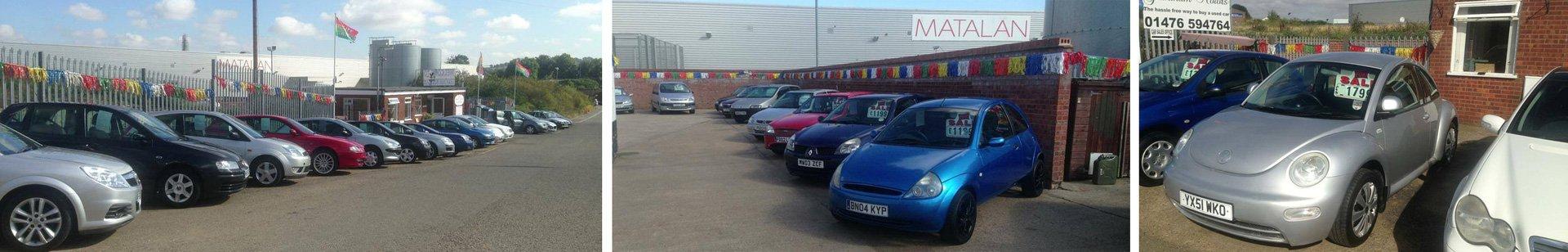 Range of cars for sale
