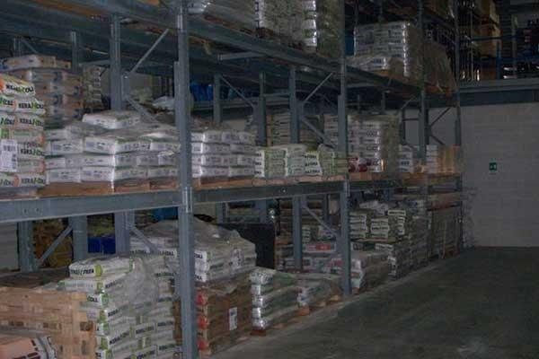 Vendita sacchi di cemento