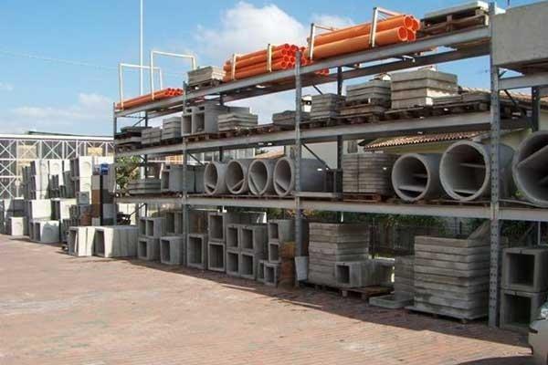 Manufatti in cemento per l'edilizia