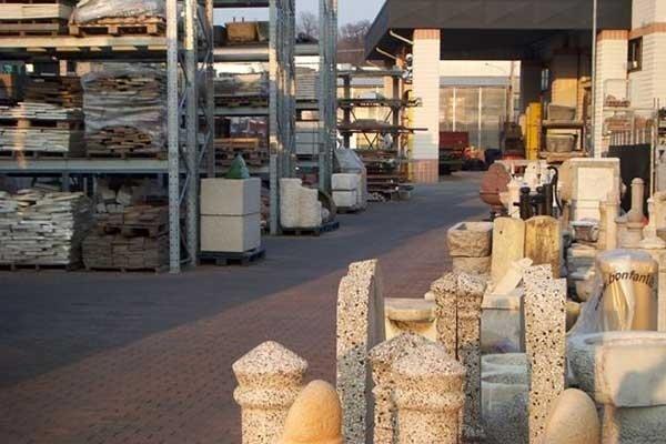 Vendita pietre e fontane