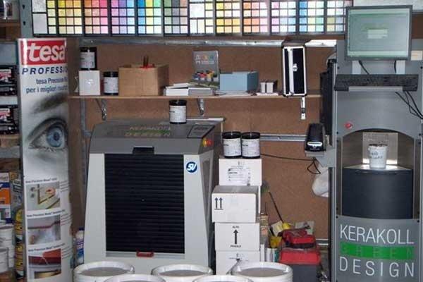Sistema tintometrico