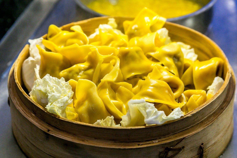 Hokkaido Chinese & Japanese buffet close up