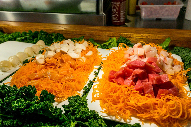 Hokkaido Chinese & Japanese buffet tuna
