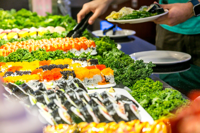 Hokkaido Chinese & Japanese buffet sushi