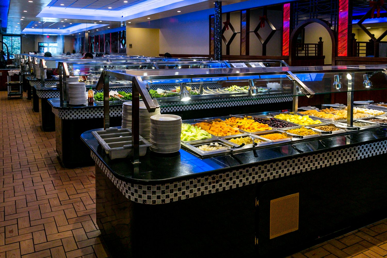 Hokkaido Chinese & Japanese buffet interior