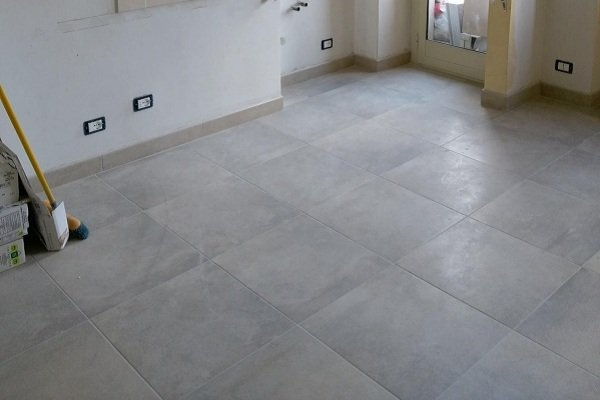 pavimento in casa ristrutturata