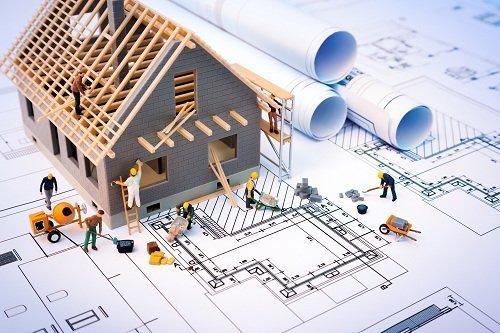progetto edile con modellini 3d