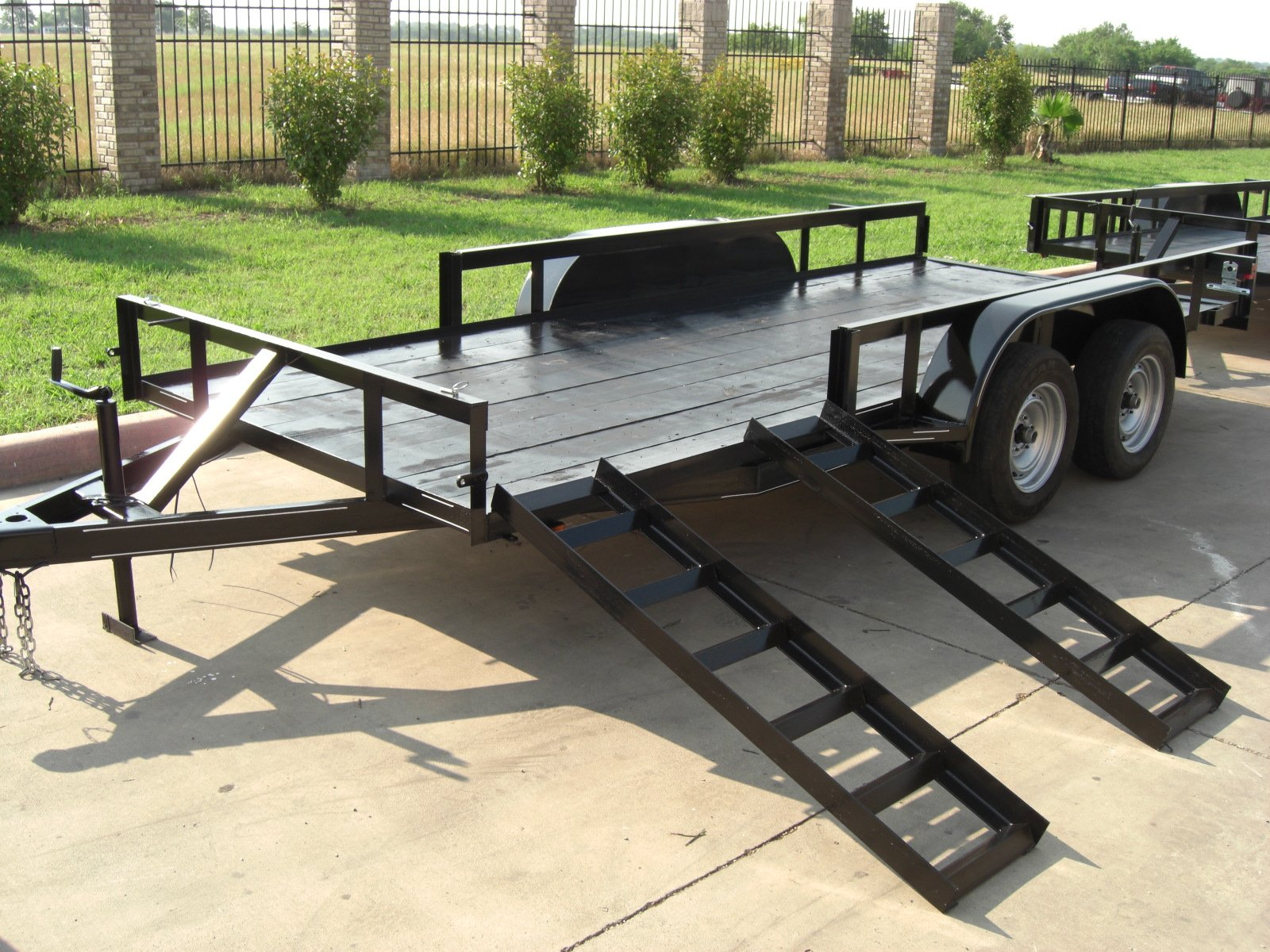 4 WHEELER TRAILERS