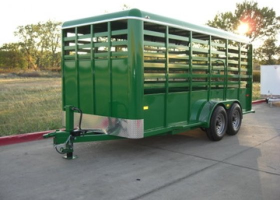 16 ft CATTLE Trailer
